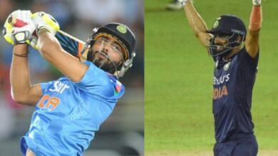 highest ODI scores for India at number 8