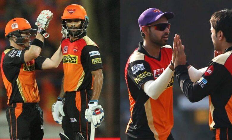 All-Time Best Sunrisers Hyderabad XI